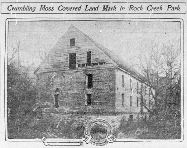 Photo of Lyons Mill from a newspaper article from 1910.